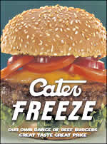 Cater Freeze Beef Burger
